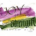 Joy Strength II Poster by Judy Dodds