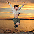 Jumping For Joy by Ted Kinsman