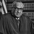 Justice Thurgood Marshall 1908-1993 Print by Everett