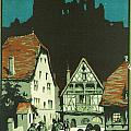 Kaysersberg Alsace Poster by Nomad Art And  Design