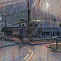 Kennesaw's Shadow Print by Donald Maier