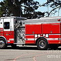 Kensington Fire District Fire Engine . 7D15854 Print by Wingsdomain Art and Photography