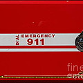 Kensington Fire District Fire Engine . 7D15866 Print by Wingsdomain Art and Photography