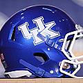 Kentucky Wildcats Football Helmet Poster by Icon Sports Media