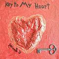 Key to My Heart Print by Jeannie Atwater Jordan Allen