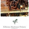 Killarney  Ontario Boathouse Poster Series Poster by Bob Salo