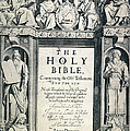 KING JAMES I BIBLE, 1611 Poster by Granger