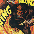 King Kong Poster by Nomad Art and  Design