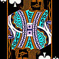 King of Spades Poster by Wingsdomain Art and Photography