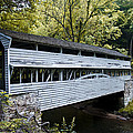 Knox Covered Bridge - Valley Forge Print by Bill Cannon