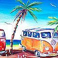 Kombi Club Poster by Deb Broughton