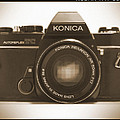 Konica TC 35mm Camera Poster by Mike McGlothlen