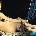 La Grande Odalisque Poster by PG REPRODUCTIONS