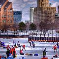 Labatt Pond Hockey 2011 Print by Don Nieman