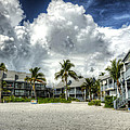 Lahaina Resort in Fort Myers Beach Print by Vicki Jauron