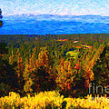 Lake Tahoe Print by Wingsdomain Art and Photography