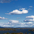 Lake Winnipesaukee New Hampshire in Autumn Poster by Stephanie McDowell