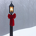 Lamppost in Snow Poster by Will and Deni McIntyre