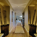 Large Hallway in Upscale Residence Print by Andersen Ross