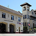 Larkspur Fire Department and City Hall - Larkspur California - 5D18502 Poster by Wingsdomain Art and Photography