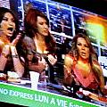 Las TV Chicas by Michael Fitzpatrick Poster by Olden Mexico