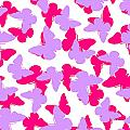 Layered Butterflies  Poster by Louisa Knight