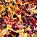 Leaves of Glass Print by Marilyn Sholin