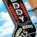 Leddy Boots Print by Anthony Ross