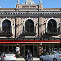 Ledson Hotel - Downtown Sonoma California - 5D19268 Poster by Wingsdomain Art and Photography