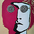 Lennon Print by Kenny Cannon