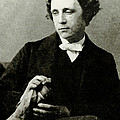 Lewis Carroll, English Author Print by Photo Researchers