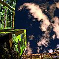 LIC Graffiti Print by Mike Lindwasser Photography