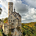 Lichtenstein Castle Print by Ryan Wyckoff