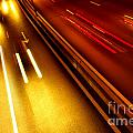 Light Trails Print by Carlos Caetano
