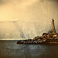 lighthouse Print by Stylianos Kleanthous