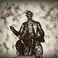 Lincoln - Pen in Hand Poster by Bill Cannon