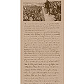 Lincoln and The Gettysburg Address Print by War Is Hell Store