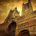 Lincoln Cathedral Print by Yhun Suarez