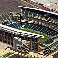 Lincoln Financial Field Philadelphia Eagles Print by Duncan Pearson