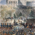 LINCOLN INAUGURATION Print by Granger
