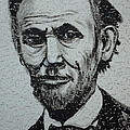 Lincoln Print by Pete Maier
