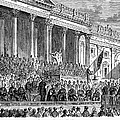 LINCOLNS INAUGURATION, 1861 Print by Granger