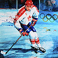 Lindros Poster by Hanne Lore Koehler