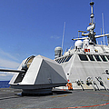 Littoral Combat Ship Uss Freedom Print by Stocktrek Images