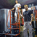 Live Oak Brewing Company Austin Texas Print by Gregg Hinlicky