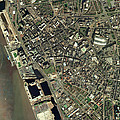Liverpool, Uk, Aerial Image Print by Getmapping Plc