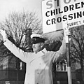 Lollipop Man Poster by Fred Morley