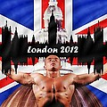 London 2012 Poster by Sharon Lisa Clarke