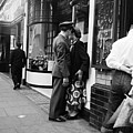 London Couple Poster by Bert Hardy