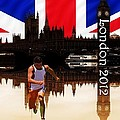 London Olympics Poster by Sharon Lisa Clarke